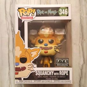 Rick and Morty Squanchy With Rope Funko #346